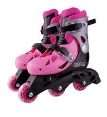 Rollerblades - Inliners Adjustable Size 32-35 - Pink (60055)