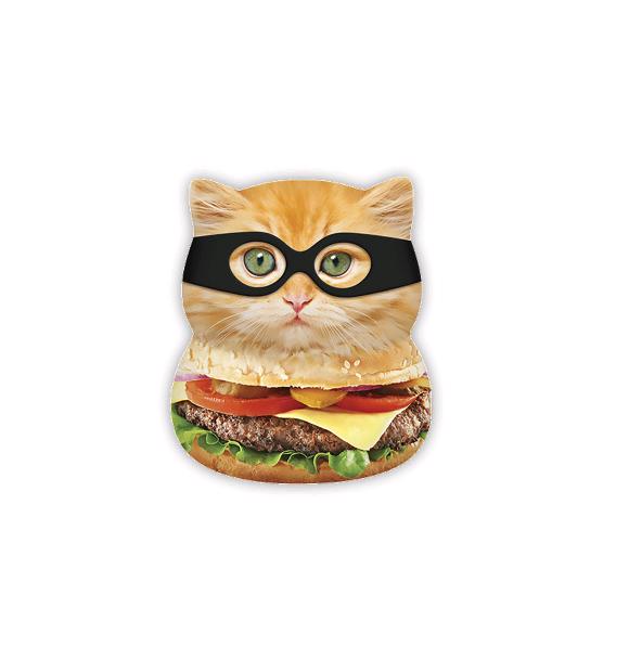 Squishies - Large - Burger Cat