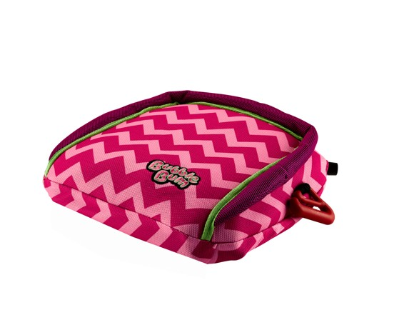 BubbleBum - Inflatable Child's Safety Booster Seat - Raspberry