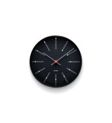 Arne Jacobsen - Bankers Wall Clock Ø 21 cm - Black (43636)
