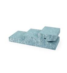 bObles - Crocodile - Light blue marble