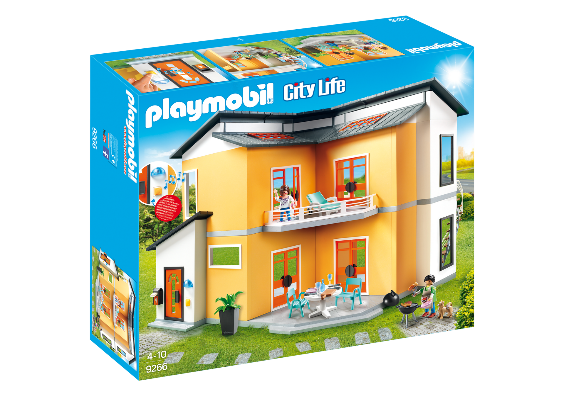 Playmobil 8 Maison Moderne Playmobil Jeux de construction