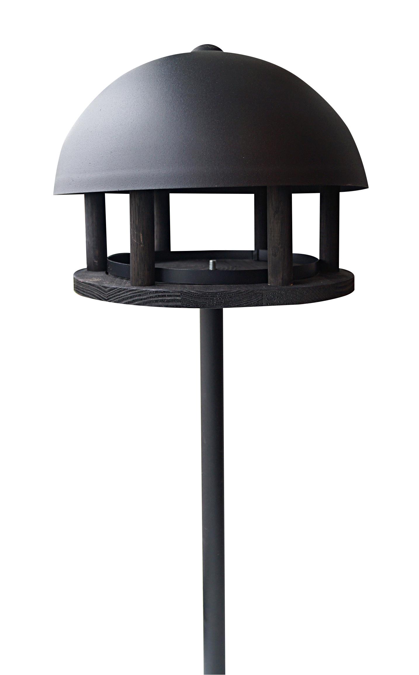 Gardenlife - Dome Black Bird House With Spear (125515)