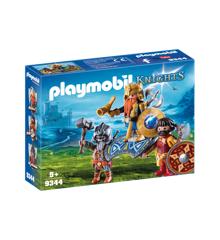 Playmobil - Dværg Konge med Vagter (9344)