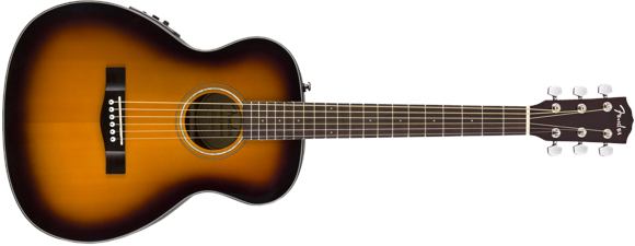 Fender - CT-140SE - Acoustic Travel Guitar (Sunburst)