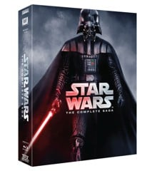 Star Wars: The Complete Saga (9-Disc) Blu-ray)
