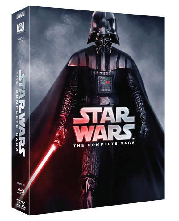 Star Wars: The Complete Saga (9-Disc) Blu-ray)