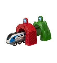 BRIO - Smart Tech - Lokomotiv med Action Tunneler (33834)