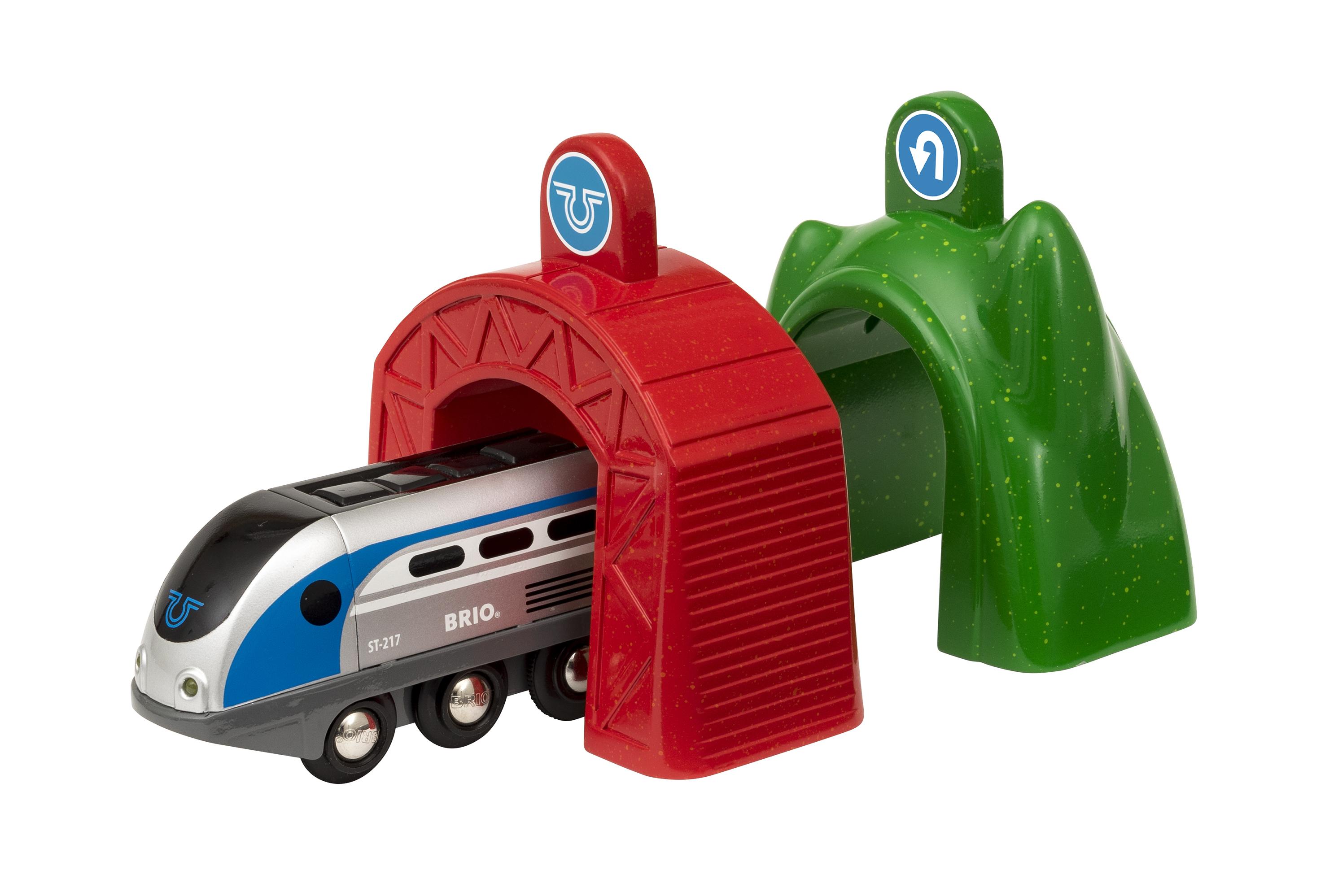 BRIO - SMART Tech Zug mit Actiontunnels (33834)