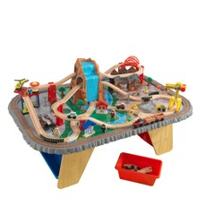 KidKraft - Waterfall Junction Train Set & Table (17498)