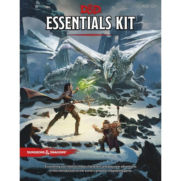 Dungeons & Dragons - Essentials Kit - 5th Edition (D&D) (WTCC7008)