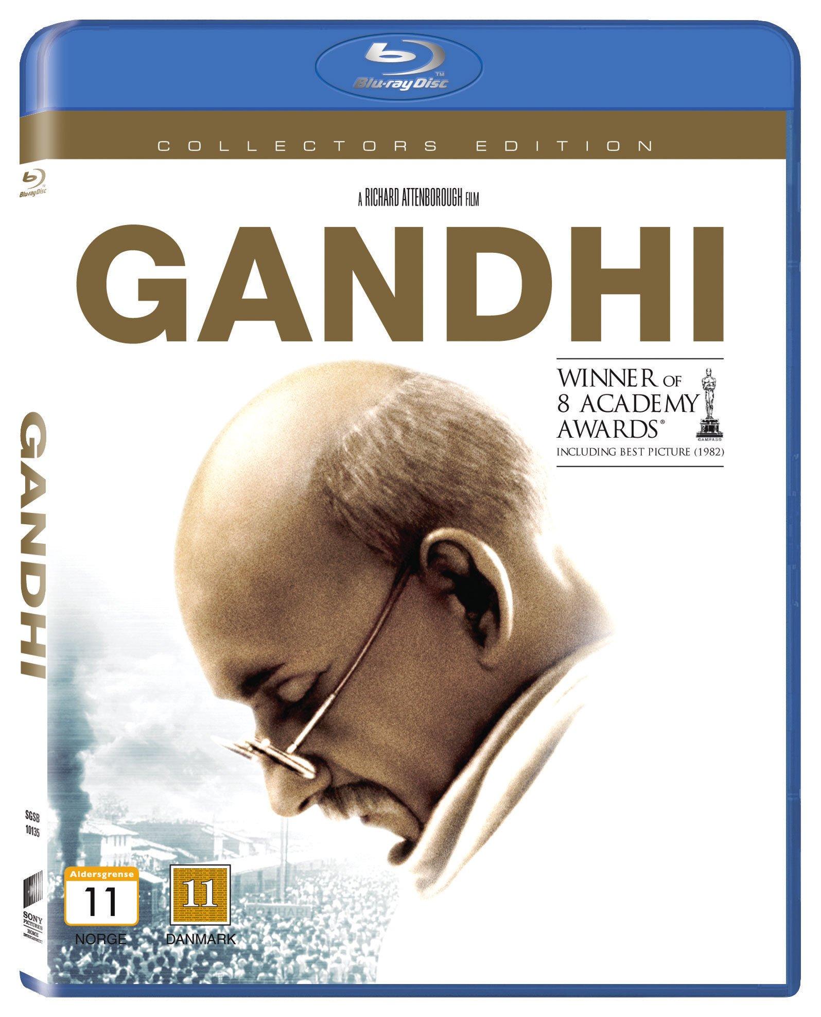 Gandhi (Classic Line) Blu ray (5051162289975)