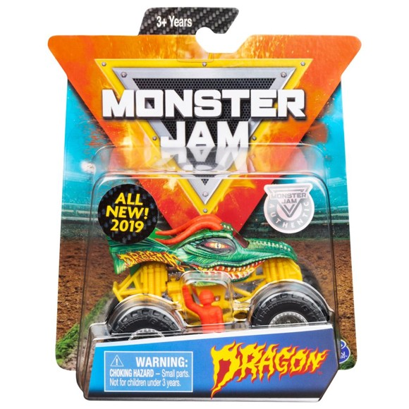 Monster Jam - 1:64 Single Pack - Dragon (20105708)