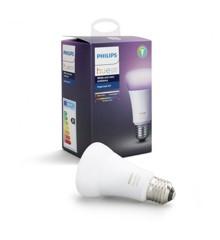 Philips Hue - E27 Single bulb -  White & Color Ambiance