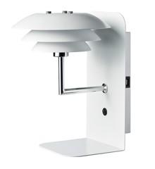 Dyberg-Larsen - DL20 USB Hylde Med Lampe - Hvid