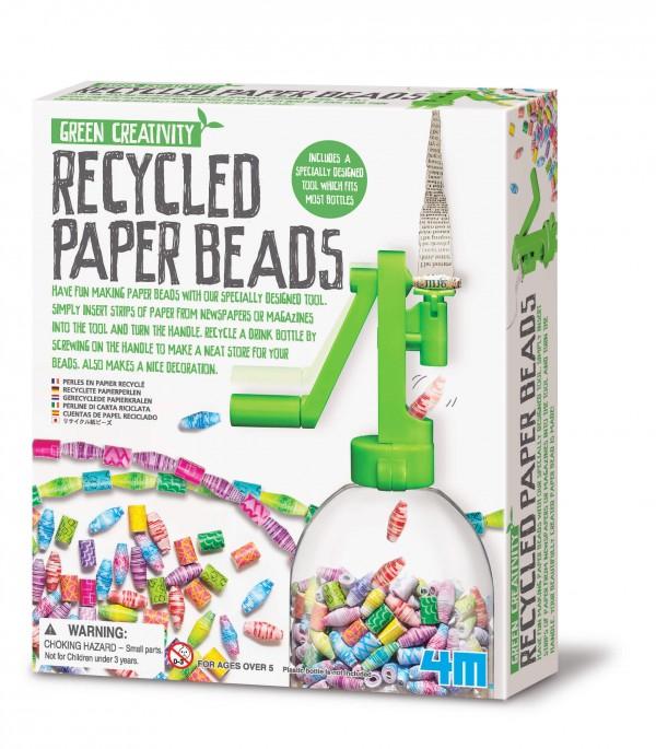 Bilde av 4m - Green Creativity - Lag Perler Av Resirkulert Papir