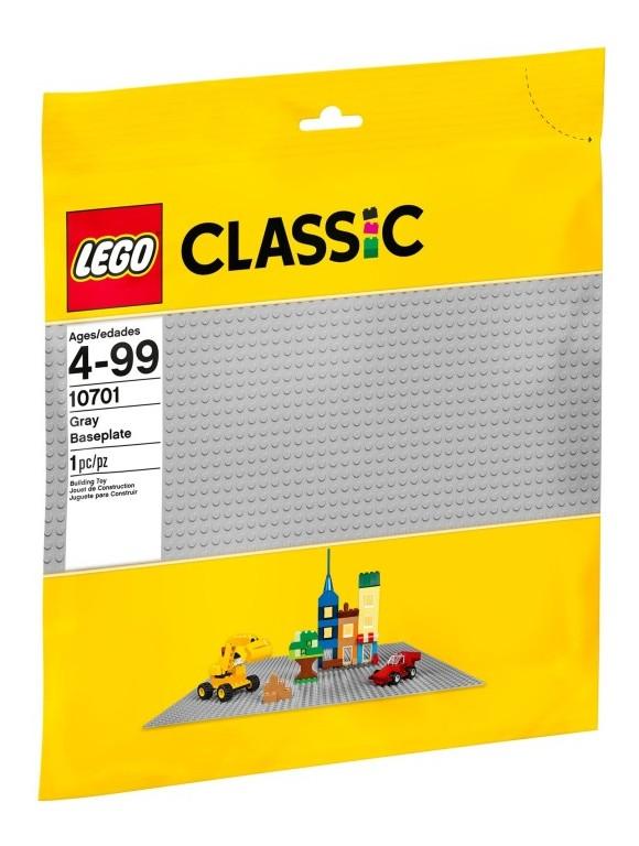 LEGO Classic - Grå basisplate (lego 10701)