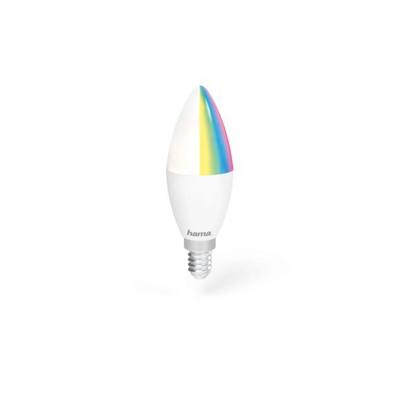 HAMA WiFi LED-Pære E14 RGB 4.5W