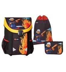 LEGO - Easy School Bag Set - CITY - Fire (16071)