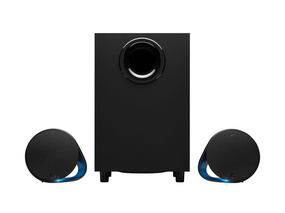 Logitech - G560 LIGHTSYNC PC Gaming Speakers