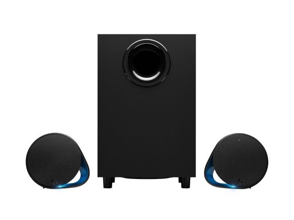 Logitech - G560 LIGHTSYNC PC Gaming Speakers