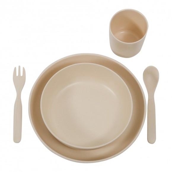 Filibabba - Bamboo Dining, Nature white (FI-BW002)