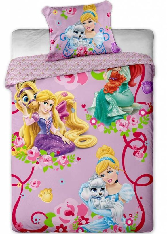 Disney Princess Palace Pets Cinderella - Duvet cover - Single - 140x200 cm - Multi