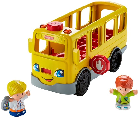 Fisher-Price - Little People - School Bus (danish) (FMT26)