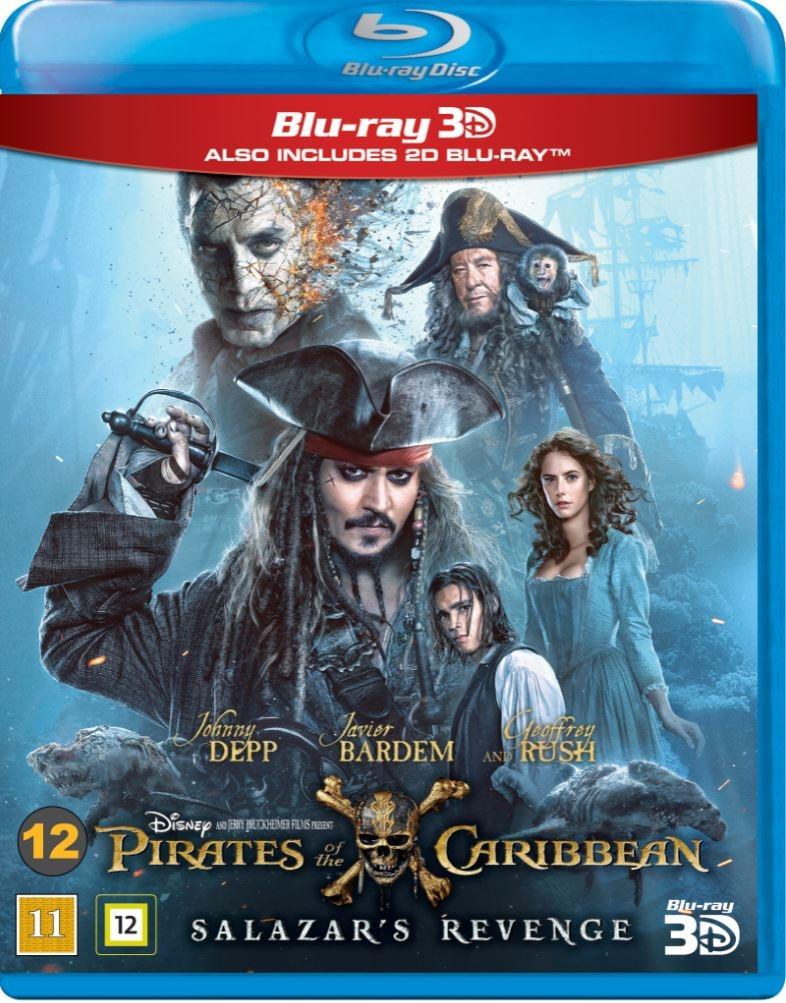 Pirates of the Caribbean: Salazar´s Revenge (3D Blu-Ray)