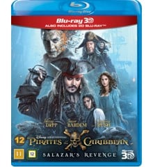 Pirates of the Caribbean: Salazar's Revenge (3D Blu-Ray)