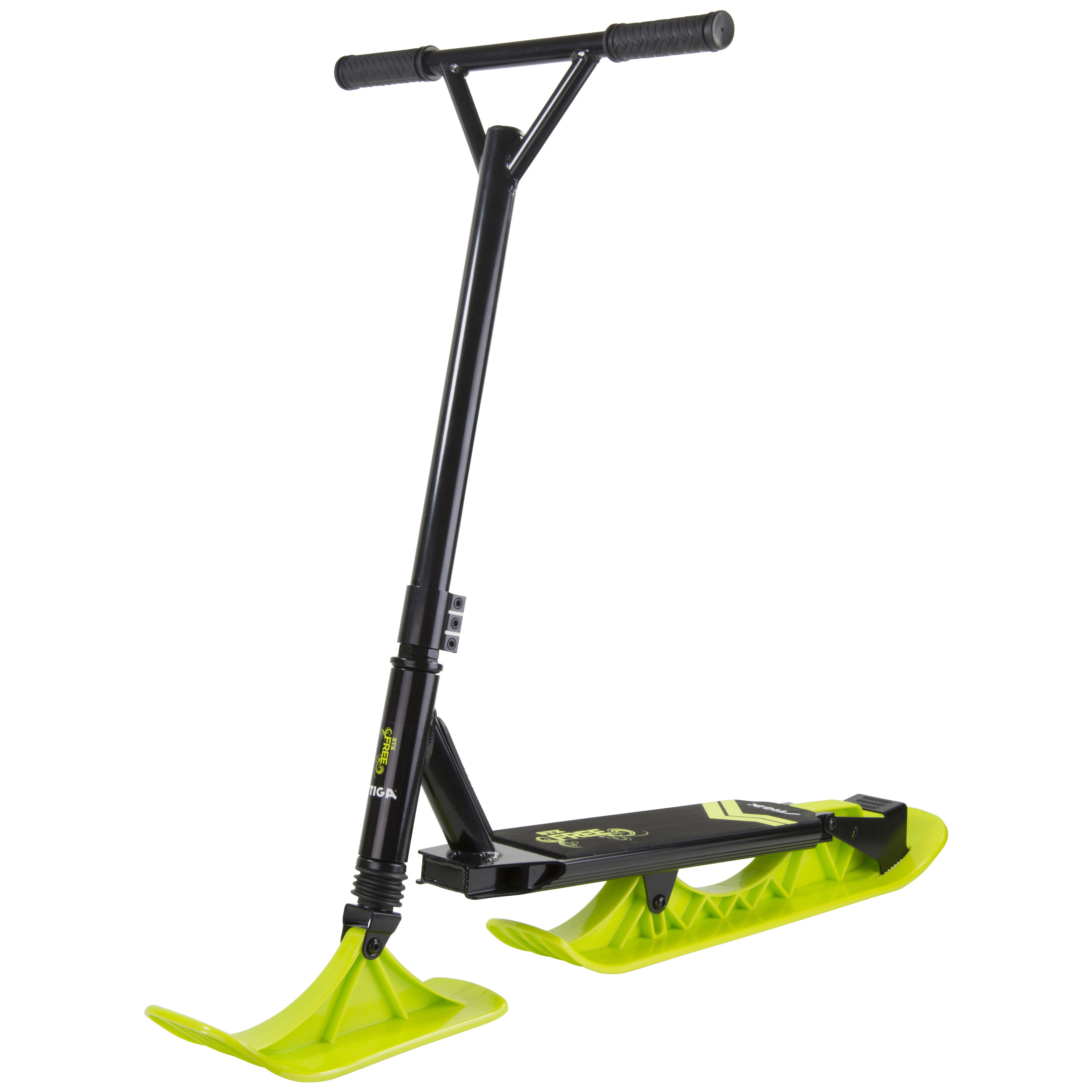Stiga - Snow Kick STX Free Scooter - Black/Lime (75-1127-19)