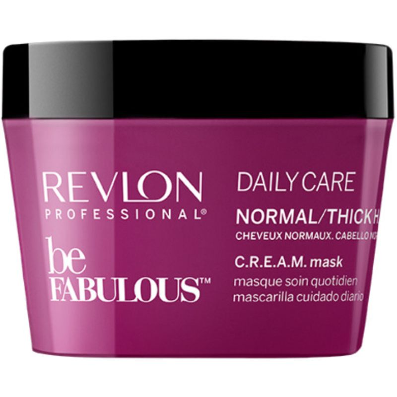 Revlon - Be Fabulous Normal/Thick Cream Mask 200 ml