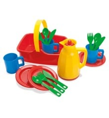 Dantoy - Picnic Set for 3 Persons in Net