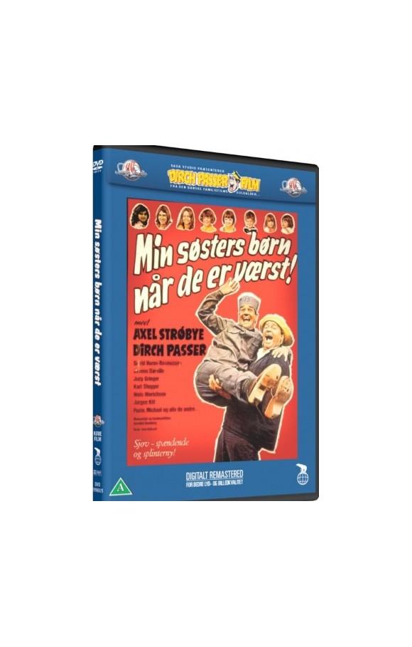 Min Søsters Børn Når De Er Værst - DVD