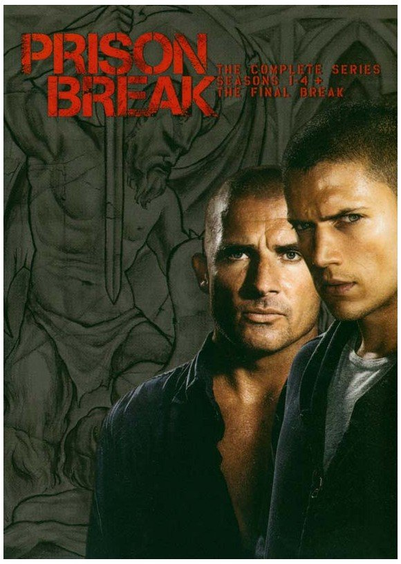 Buy Prison Break Season 1 4 Incl Final Break 23 Disc Dvd