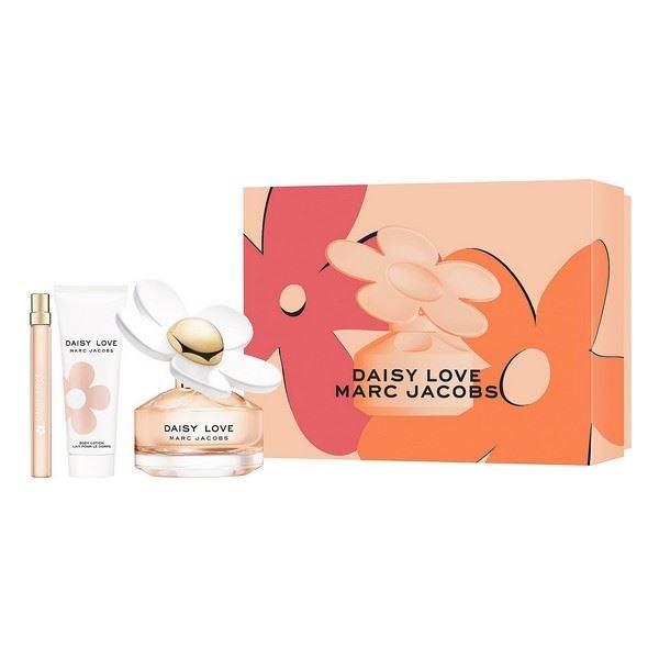 Marc Jacobs - Daisy Love EDT 100 ml + Body Lotion 75 ml + EDT 10 ml - Gavesæt