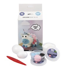 DIY Kit - Funny Friends - Unicorn - Baby Blue (100751)