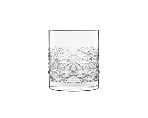 Luigi Bormioli - Mixology Textures Water Glass/whisky Glass - 4 Pack (12346-02)