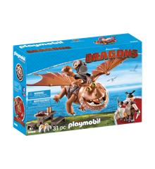 Playmobil - Fishlegs and Meatlug (9460)