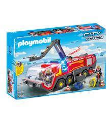 Playmobil - Lufthavnsbrandbil med lys og lyd (5337)