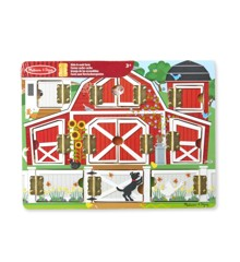 Melissa & Doug - Magnetic Hide & Seek Board - Farm (14592)