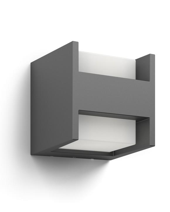 Philips - Arbour wall lantern anthracite 2x4.5W myGarden