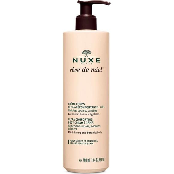 Nuxe - Rîve de Miel Ultra-Comfortable Body Cream 400 ml (BIG SIZE)