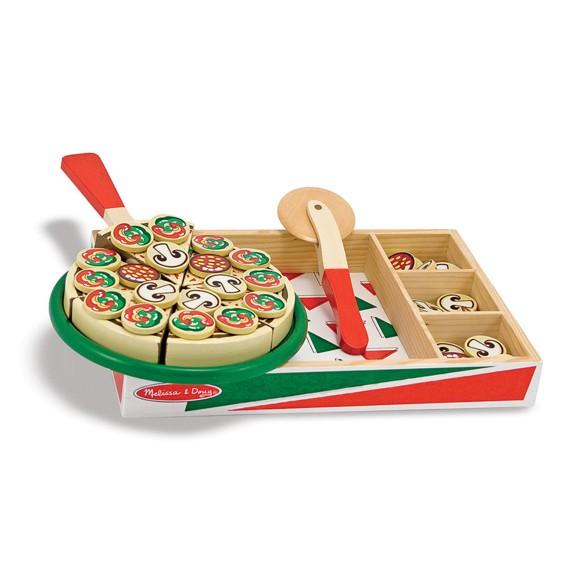 Melissa & Doug - Wooden Pizza (10167)