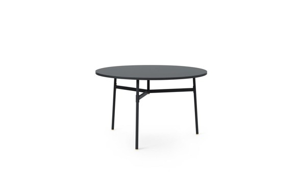 Normann Copenhagen - Union Table Ø120 cm - Black (1401182)