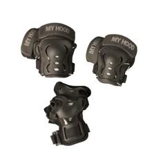My Hood - Beskyttelse - Knæ, albue- og håndled - Medium