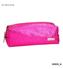 Top Model - Pencil Case - Snake Skin Look - Pink (0410825)
