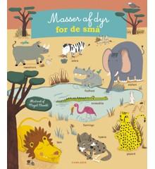 Børnebog - Masser af dyr for de små