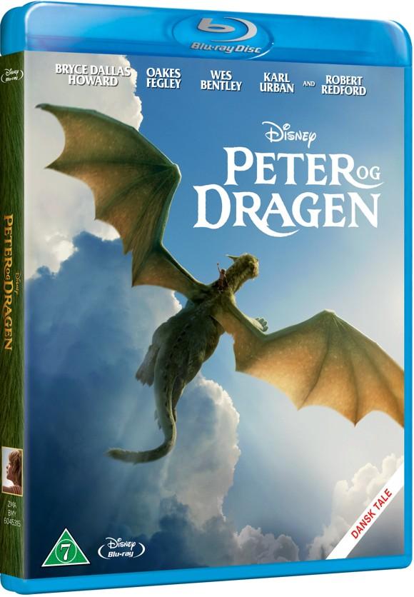 Disneys - Peters Dragon/Peter Og Dragen - 2016 (Blu-Ray)
