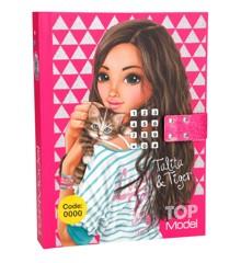 Top Model - Dagbog med kode og musik -  Pink